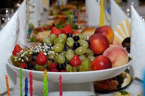 Sådan arrangere frugt plader & Banquet skærme