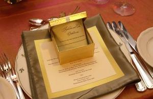 Bryllup menu design ideer