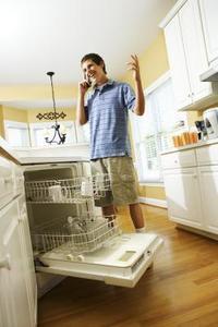 Sådan Fix en opvaskemaskine, der er brudt med sæbebobler?