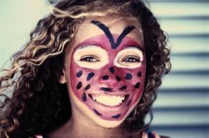 børn heks ansigtsmaling