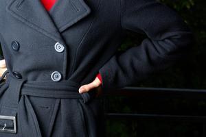 Læder trenchcoat Styles