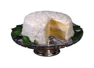 Sådan udfylder mellem to skiver kage med Pudding