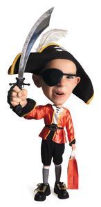 Hvordan man laver en pirat taske