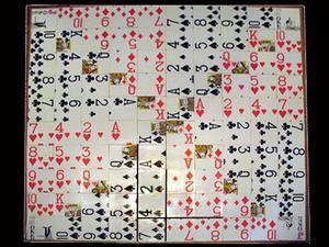 Hjemmelavet sekvens brætspil hjælp spillekort