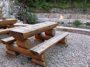 Hvordan man kan afslutte udendørs træmøbler