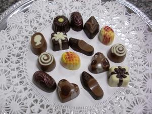 Making chokolade forme