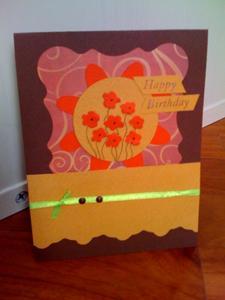 Håndlavede Birthday Card Idéer