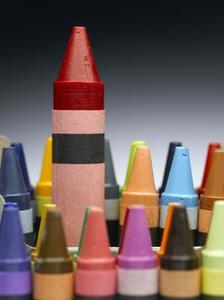 Kunsthåndværk Brug farveblyanter i en Laminator
