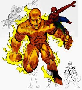 Hvordan man tegner Comic Book Muskler