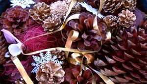 Billig vinter bryllup dekoration ideer