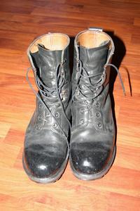 Sådan Spit Shine hær støvler