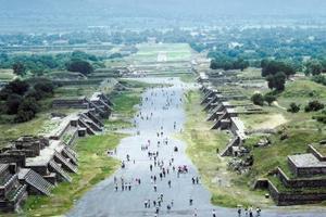 Den Pyramid of the Sun af aztekerne