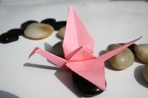 Hvordan laver man en Origami Peace Sign