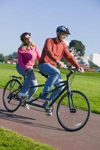 Sådan Test Ride en Tandem cykel