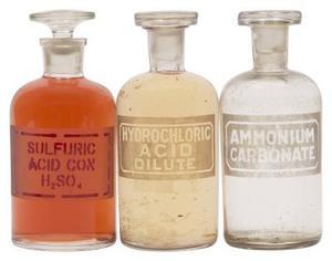 Almindelige anvendelser for saltsyre
