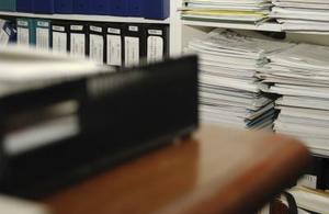 Hvor længe skal personalet filer opbevares?