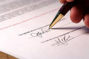 Hvordan man skriver en kontrakt